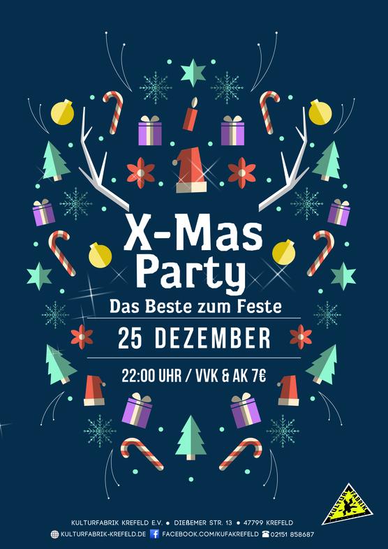 X Mas Party Das Beste Zum Feste Kulturfabrik Krefeld Ev